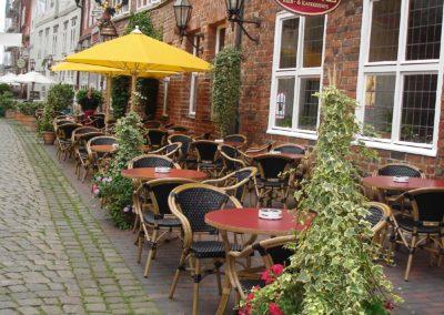 Unser Straßencafé